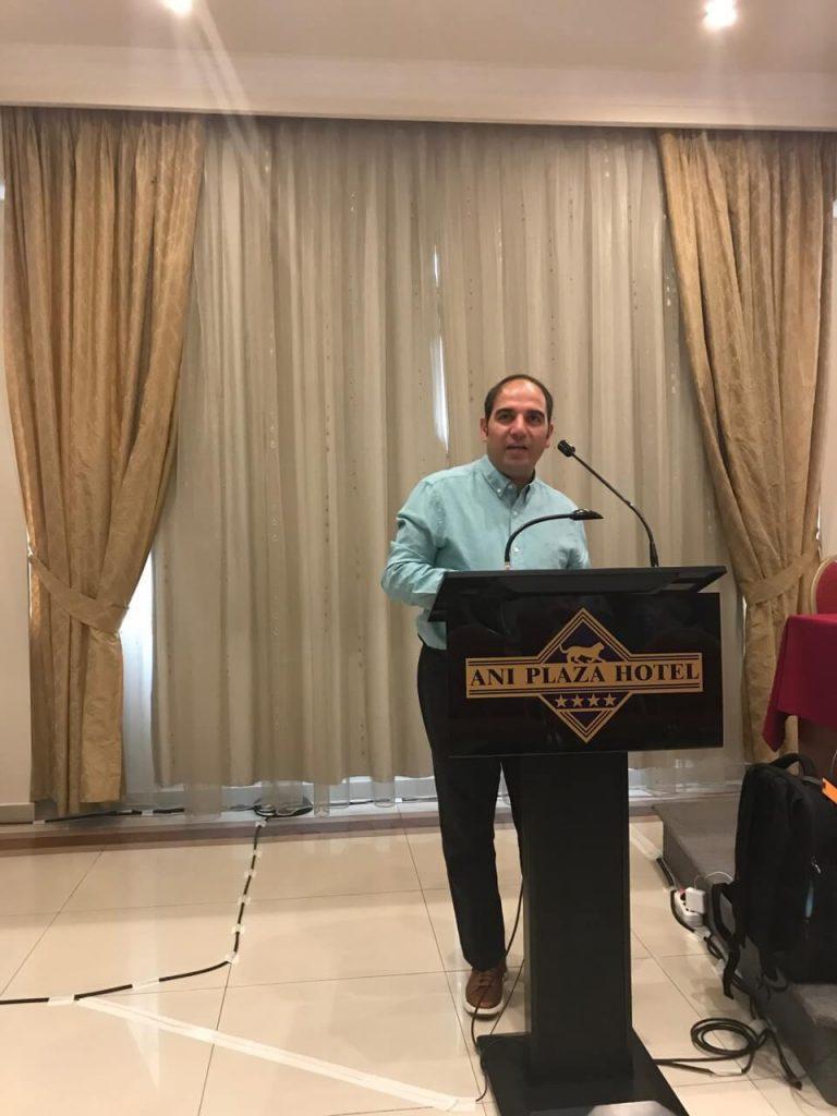 Асатур Нагапетян (Єреван, Вірменія) – президент Європейської баптистської федерації 2015-2017 років, генеральний секретар Союзу ЄХБ Вірменії