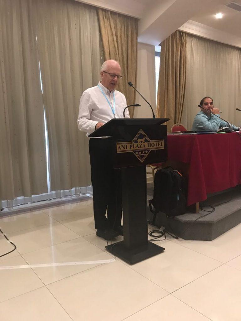 Ентоні Пек, генеральний секретар Європейської баптистської федерації